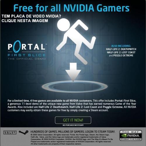 Nvidia - Half Life na Steam