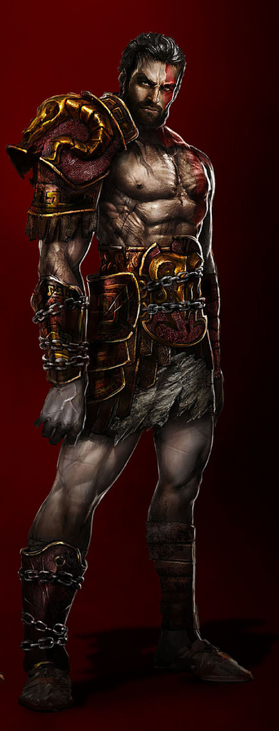 God of War 3 - Ghost of Sparta - Deimos, Irmão de Kratos