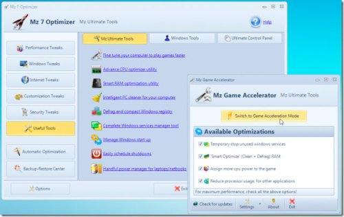 Software para melhorar velocidade do Windows 7